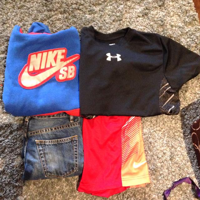Find More Boys Clothing Lot For 8 10 Year Old Nike Under