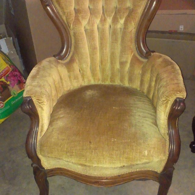 Antique Petite Queen Anne Chair REDUCED - Best Antique Petite Queen Anne Chair Reduced For Sale In Bartlett