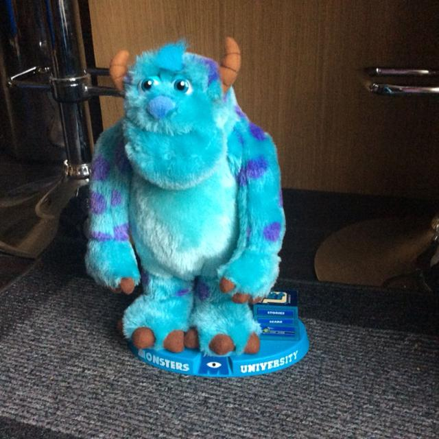 Electronic Sully from monsters university