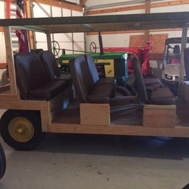 Parade Wagon with Antique John Deere Running Gear