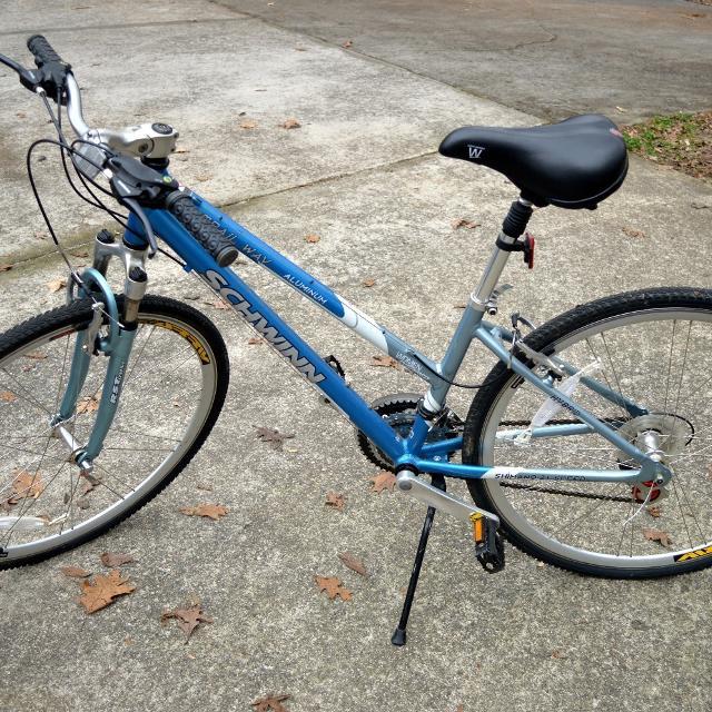 Women's Hybrid 21 Speed Bike