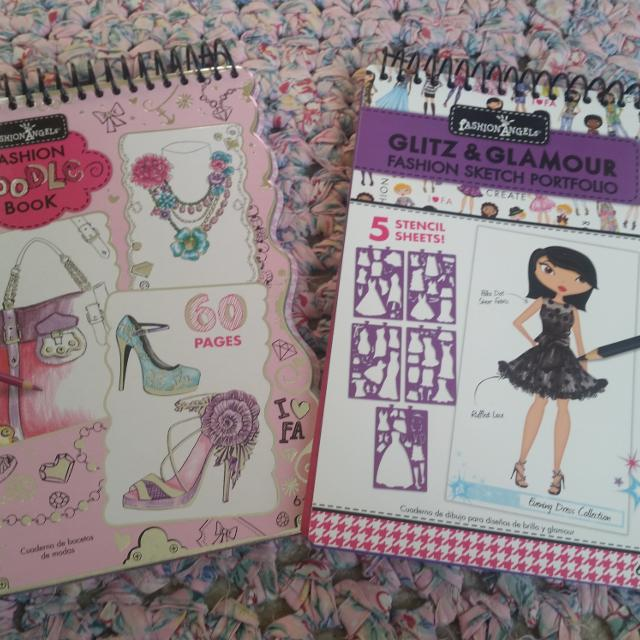 Best 2 Fashion Angels Books Never Used In Great Condition For Sale In Leavenworth Kansas For 2020