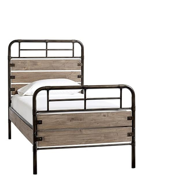 Pottery Barn Owen Bed: Best Pottery Barn Owen Bed In Weathered Grey For Sale In