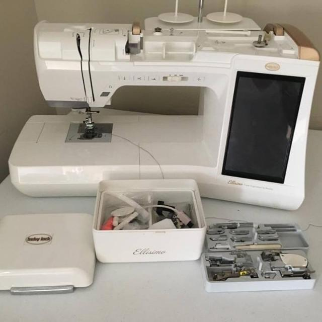 Best Babylock Ellisimo Gold For Sale In North Myrtle Beach South Beauteous Ellisimo Sewing Machine