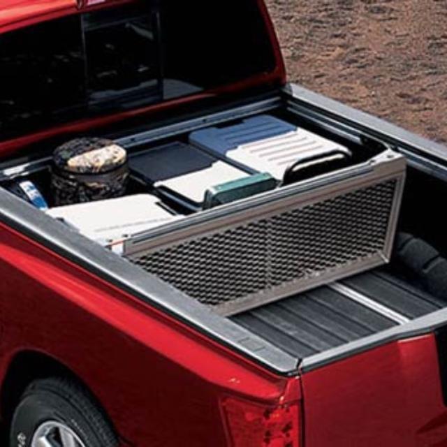Nissan Titan Utili Track Bed Divider