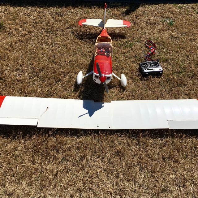 Large Scale Citabria RC Plane