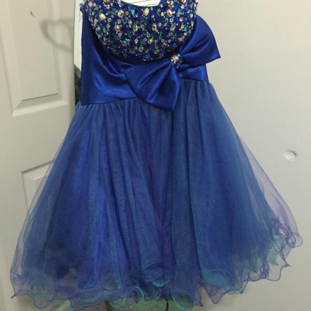 b0238f04844 Best Short Prom graduation Dress - Blue! for sale in Clarington ...