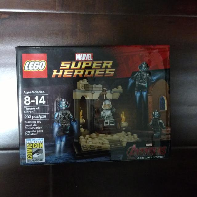 LEGO SDCC 2015 Exclusive Throne of Ultron