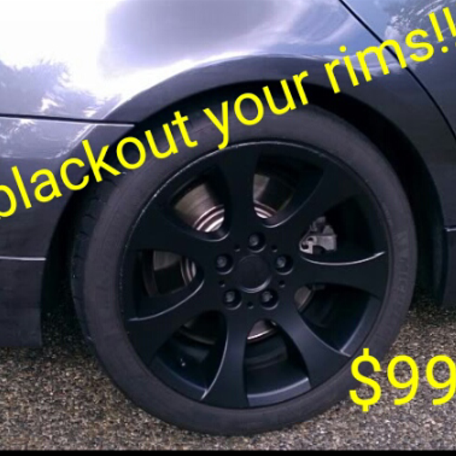 Plasti dip your rims!!!