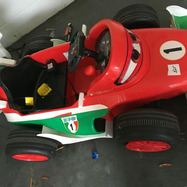 Cars  Francesco Bernoulli Power Wheels
