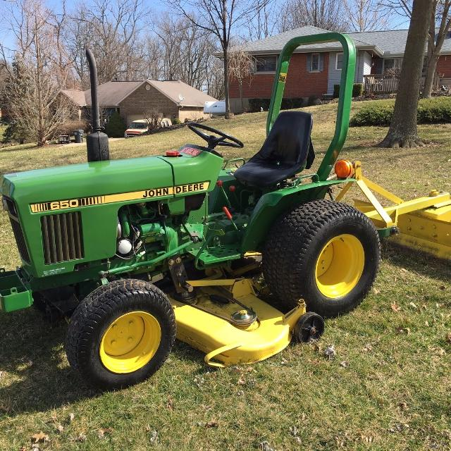 John Deere 650 >> Best John Deere 650 Compact Utility Tractor With 60 Mowing Deck And