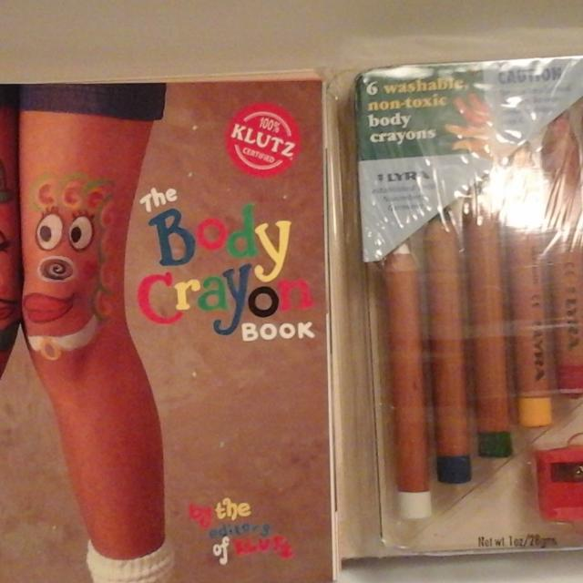 Best Klutz Body Crayon Book for sale in Houston, Texas for 2018