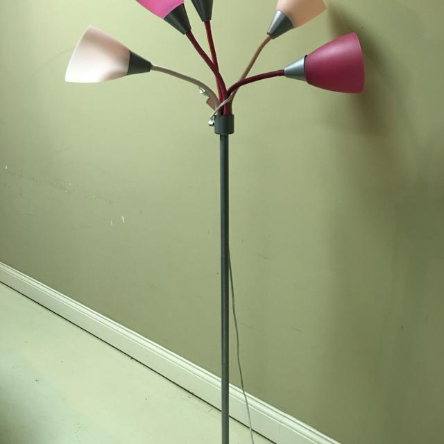 Find more 5 light pink floor lamp for sale at up to 90 off 5 light pink floor lamp mozeypictures Image collections