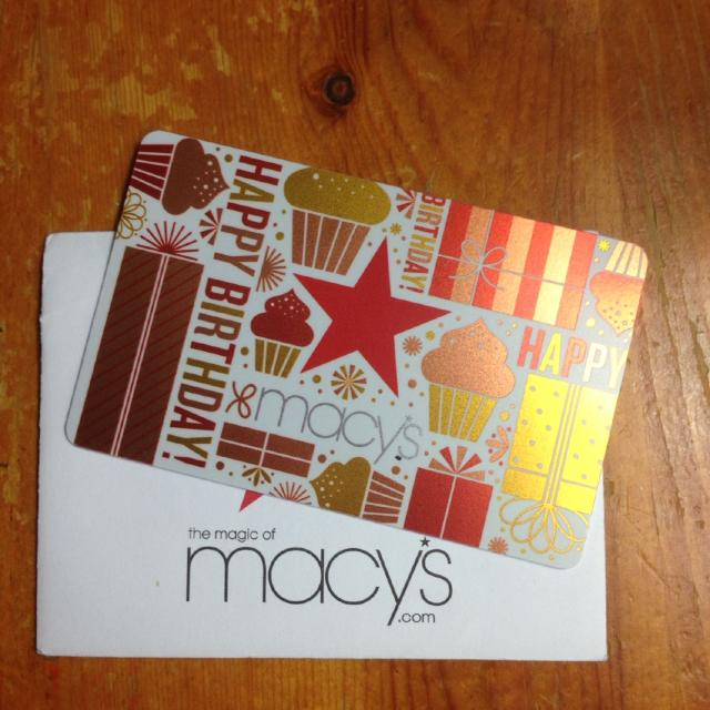 Macys Gift Card Balance Is 5000 Selling For 4000 Can Check When We Meet