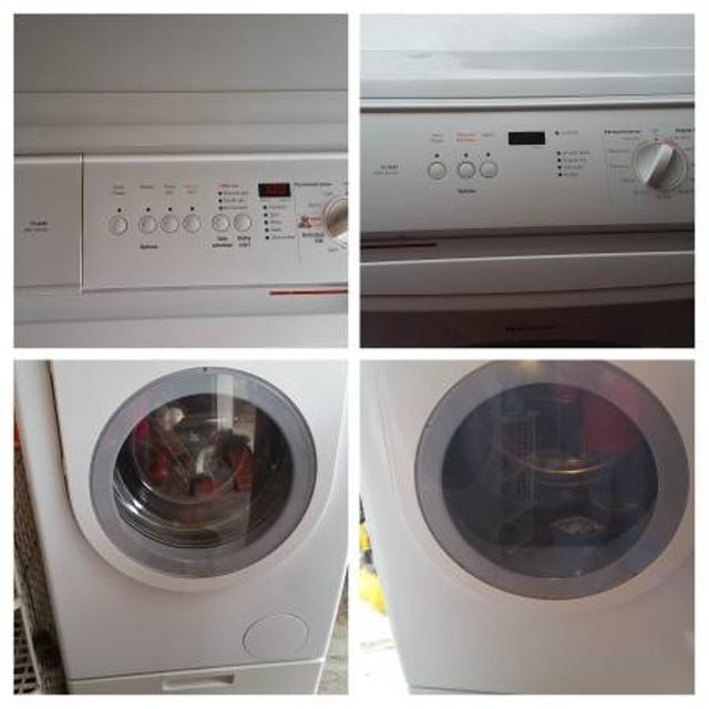 Bosch Net Series Washer Dryer W Pedestal As Is