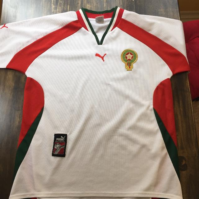 new style 86624 2ee0f Morocco national side soccer jersey
