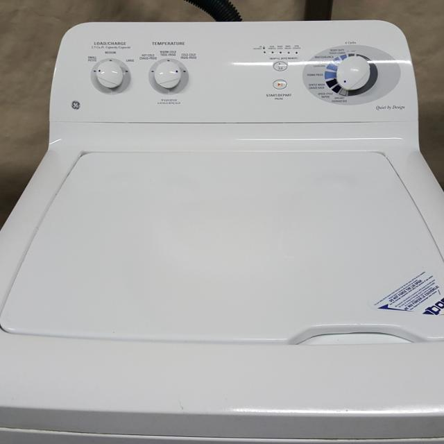 4 Year Old Ge Washer