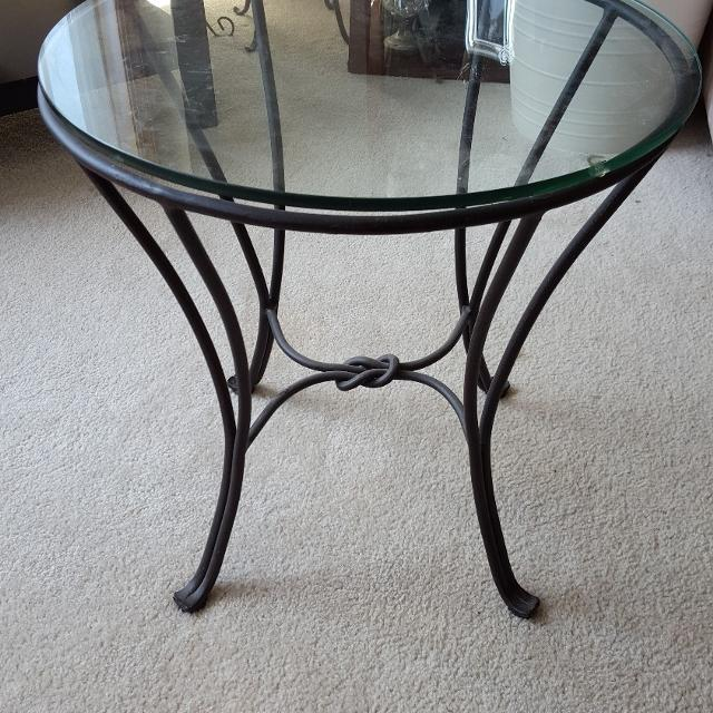 Pier One Knot Side Table