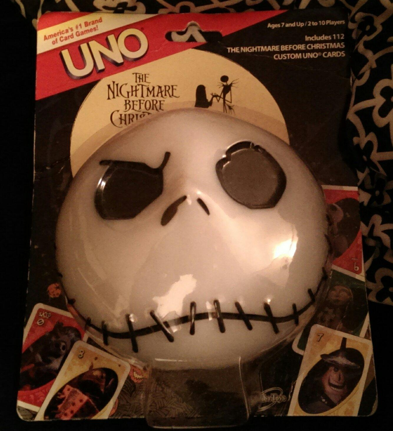 Best *new* The Nightmare Before Christmas Custom Uno Game for sale ...