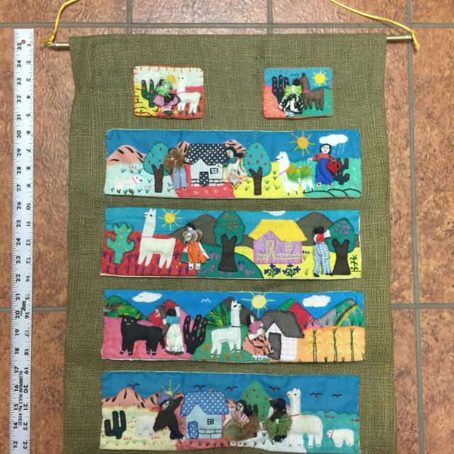 Best Peruvian Folk Art. 3d Pieces (6). Pieces Are Hand Made And Sewn ...