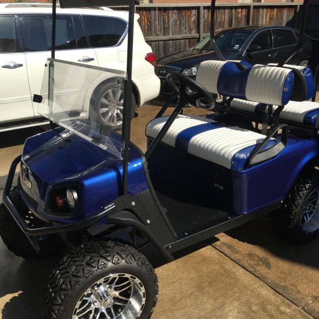 Best Ex Go Golf Cart. 2011 Frame With New Body, Wheels, And Tires ...