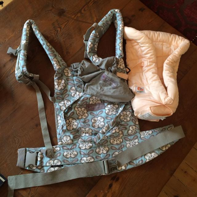 Find more Petunia Pickle Bottom Ergo Baby Carrier And Infant Insert ...