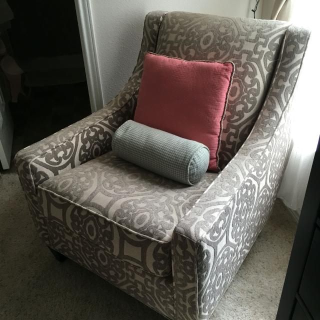 Taupe Accent Chairs.Cindy Crawford Home Sidney Road Taupe Accent Chair