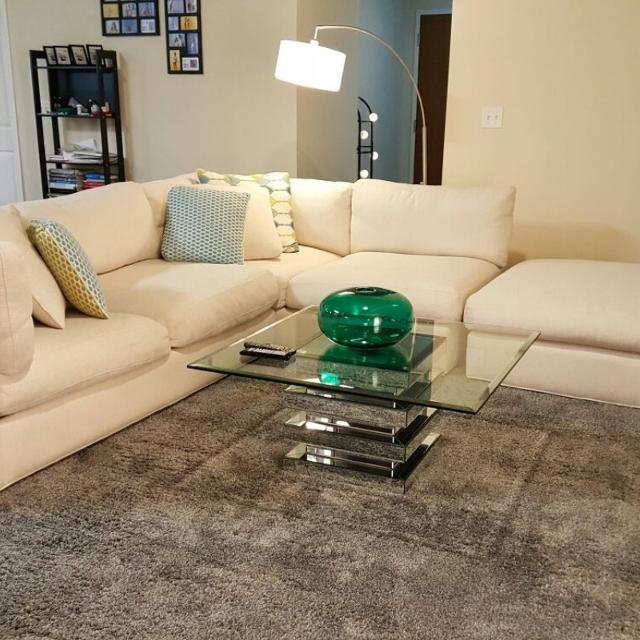 Living Room Set 3Pc Sectional W Rug Seller Can Meet Near Houston TX