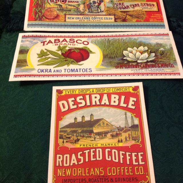 find more louisiana brands past cards. just frame and they make