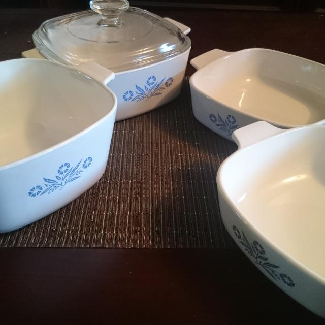 Find More Corningware Square Dishes And Lid Cornflower Blue Inspiration Corningware Dishes Patterns
