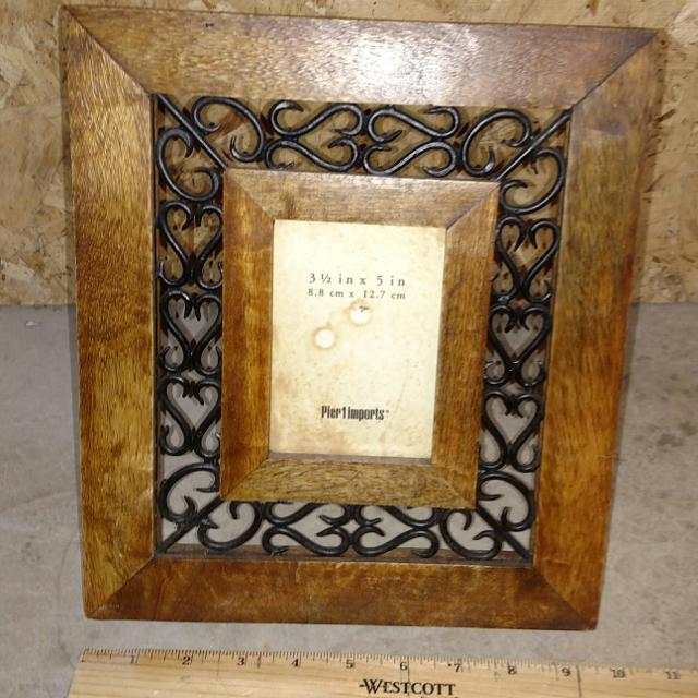 Find More New Wooden Picture Frame Holds 3 12x5 From Pier One