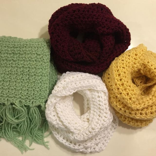 Best Hand Made Crochet Scarves For Sale In El Paso Texas For 2019