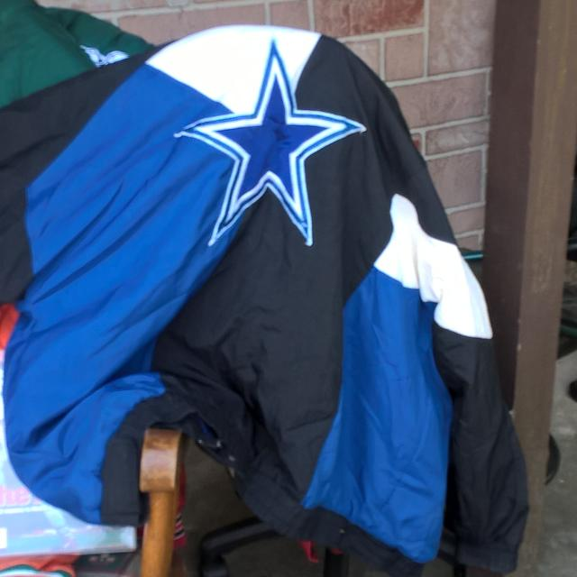 buy popular fc99d f8ad3 Dallas Cowboys Starter jacket