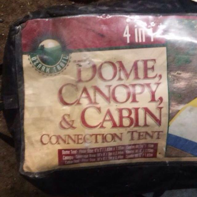 Find More Ozark Trail 4 In 1 Dome Canopy Cabin Connection Tent For
