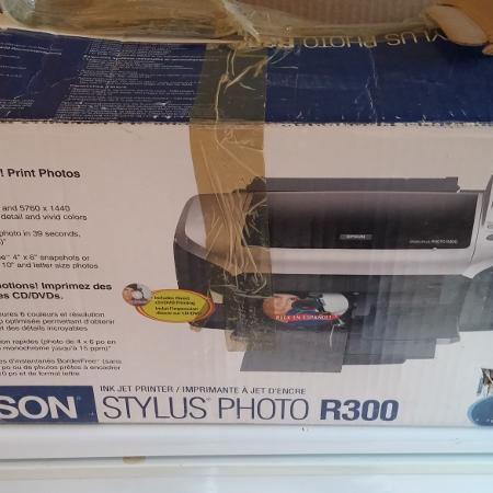 Used, Epson R300 Photo Printer for sale  Canada