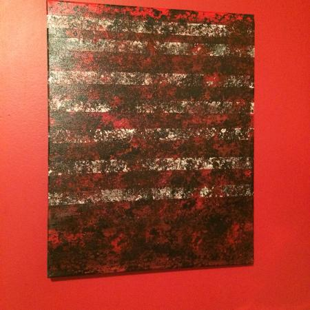 Abstract art on canvas one of a kind for sale  Canada