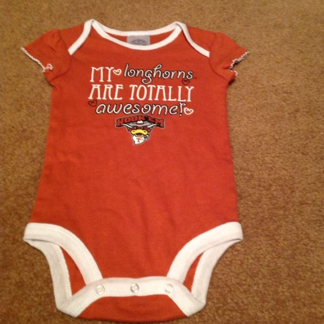 a349f589a Texas Longhorn Onesie. Size 6 To 9 Months. Onesies Bundle Deal for sale in  Baldwin County, Alabama for 2019