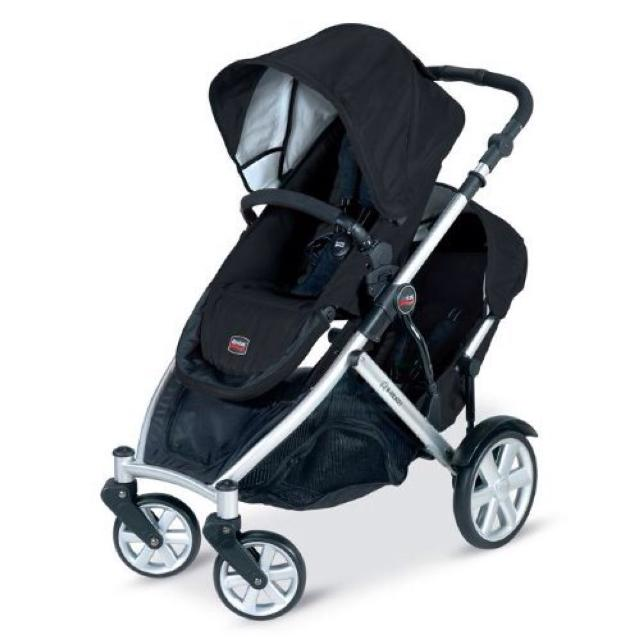Britax B Ready Double Stroller With Lower Infant Car Seat Adapter 350 In Excellent Used Condition