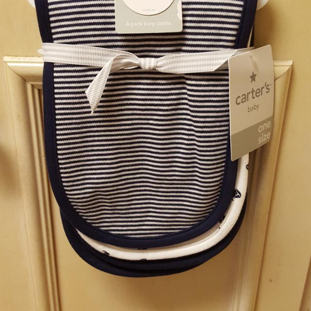 Find More Price Drop Nwt Carters Brand Burp Cloths Nautical