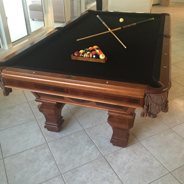 Best Brunswick Sorrento Pool Table For Sale In Jacksonville Florida - Jacksonville pool table movers