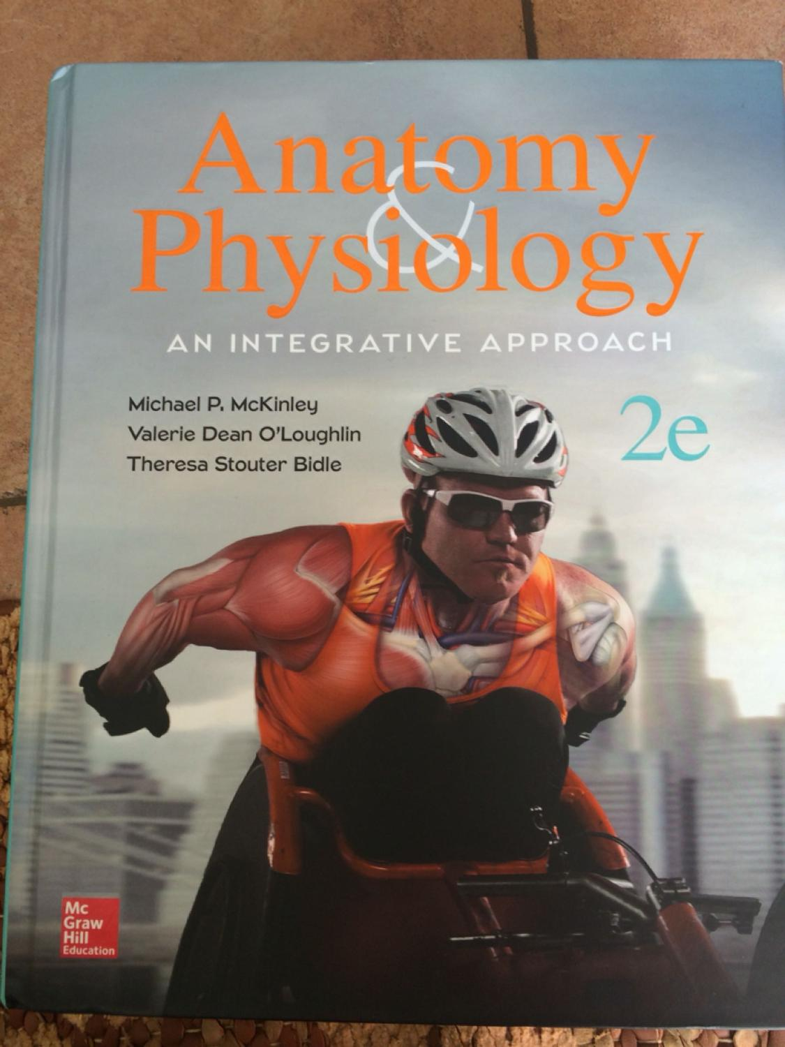 McGraw Hill Anatomy & Physiology textbook!