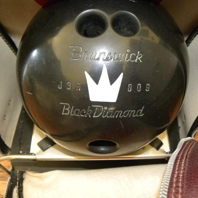 Best Vintage Brunswick Black Diamond Bowling Ball For In Menifee California 2019