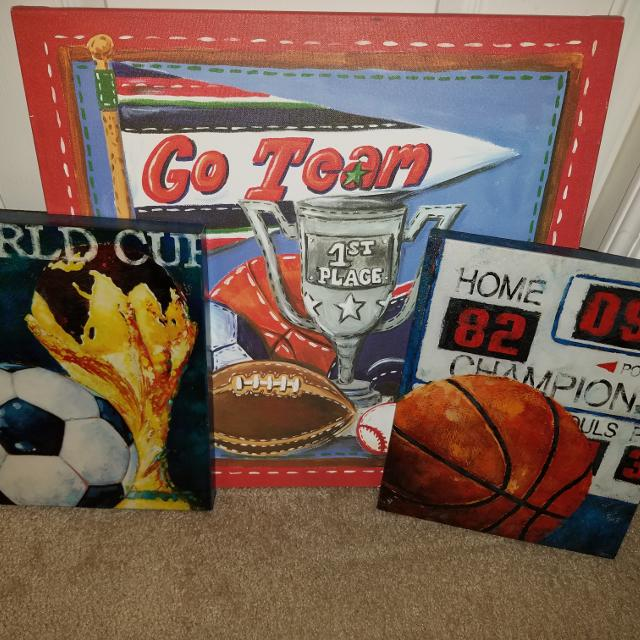 Best Sport Themed Wall Decor For