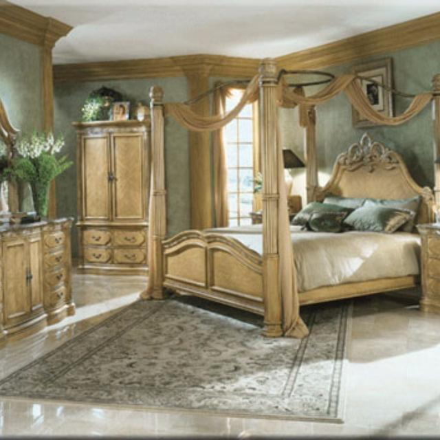 Best High-end Aico Michael Amini La Francaise King Bedroom Set ...