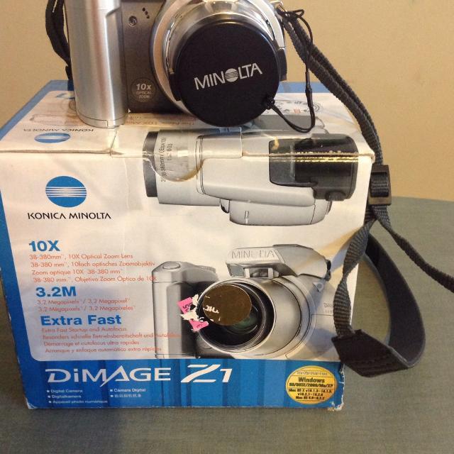 Minolta DiMage Z1 Camera