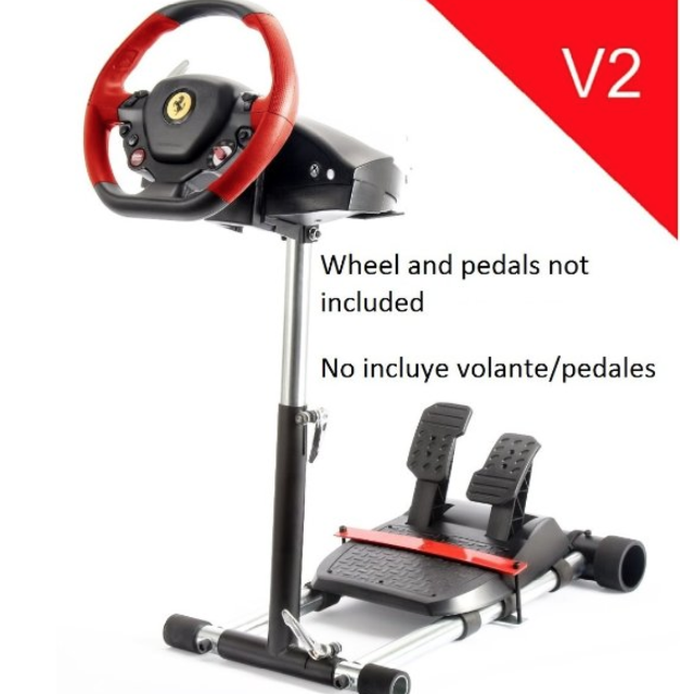 best thrustmaster ferrari 458 spider racing wheel, stand and pedals