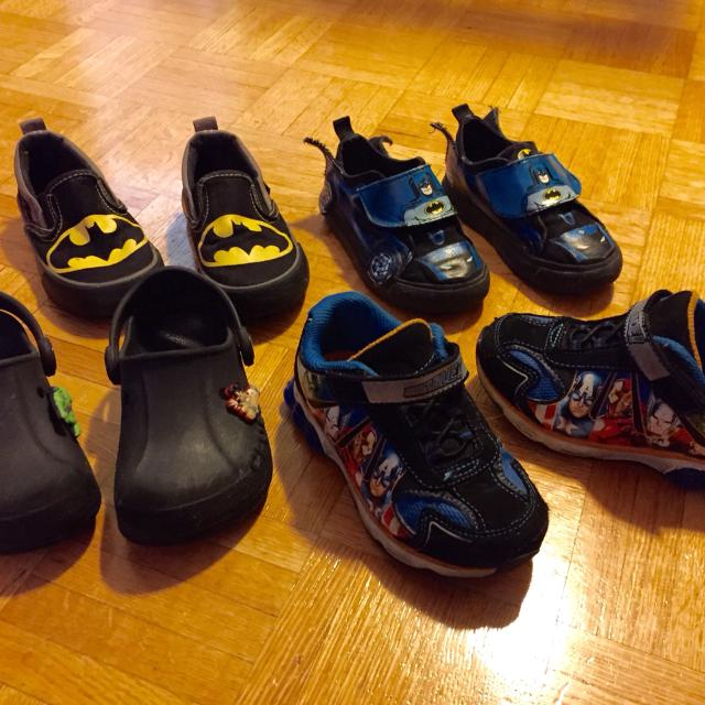9351e463bbfd Find more 4 Pairs Of Toddler Boys Shoes All 4 Pairs  15 for sale at ...