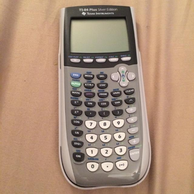 Ti 84 Plus Silver Edition Texas Instruments Graphing Calculator Price Reduction