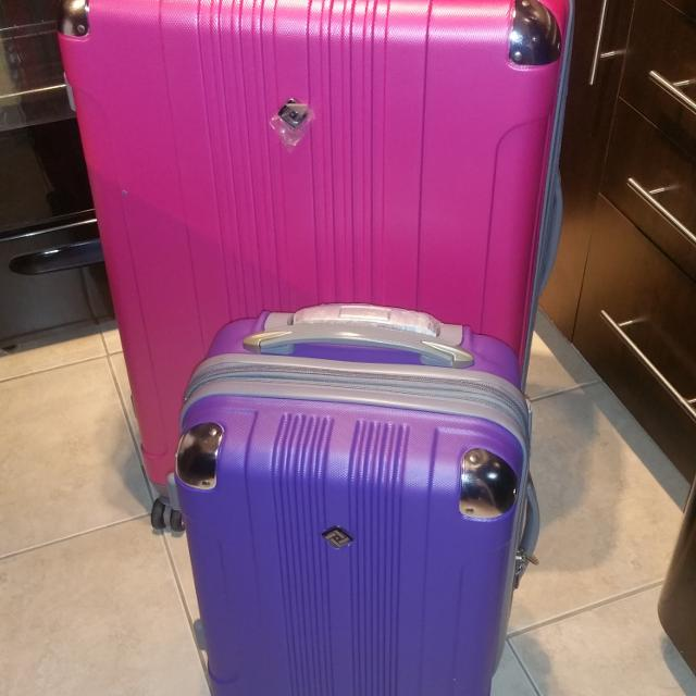 Find more Bnnu!!!! Pacific Usa 2pc Luggage Set, 32