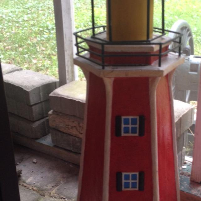 Find more Reduced !! Swap Only Concrete Lighthouse Statue - Needs ...